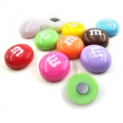 Resin fridge magnets - magnetic stickers - 10 pieces