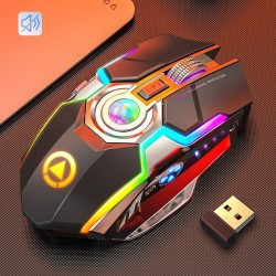 Wireless optical mouse - 1600DPI - USB - 2.0 receiver
