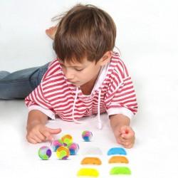 DIY assembled ball - six-petal combination - educational toy