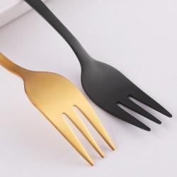 Cake fork - dessert - stainless steel