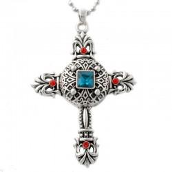 Christian cross - pendant necklace
