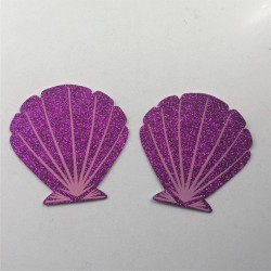 10pairs/lot - Disposable Nipple Covers - Purple Shell