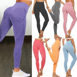 Seamless Leggings - Push Up - Sport - Women - Fitness - Running - Yoga