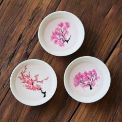 Ceramic mug - thermal color change - Japanese Sakura