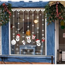 Christmas decoration - window stickers