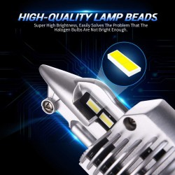 LED Headlight Bulbs - 16000LM - 6000k - 4300k