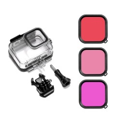 Go Pro 8 - Housing - Protective Case - Filters