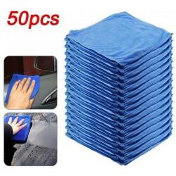 Car washing towel - anti-scratch - quick-drying - microfiber - 50 pieces