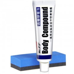 Car body compound wax - paste for scratch repair / polishing / grinding - kit