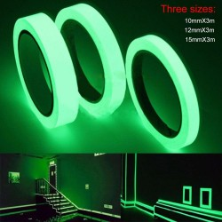 3M - luminous glowing in dark tape - night vision - self-adhesive - 10 - 12 - 15mm
