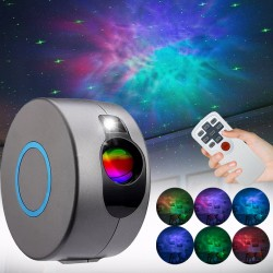 Starry sky projector - night lamp - remote control - LED - 5W