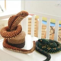 Snake / cobra - plush toy - 100cm