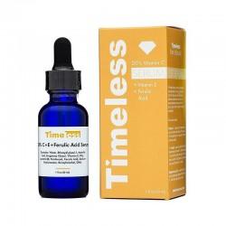TIMELESS - 20% vitamin C / E / ferulic acid - antioxidant / whitening face serum - anti wrinkle - 30ml