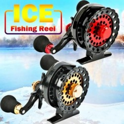 Reel for ice fishing - 6+1 ball bearings - high speed - right / left side