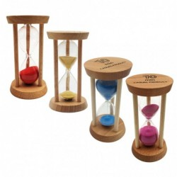 Wooden hourglass - timer - 10 minutes