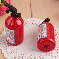 Fire extinguisher shaped pencil sharpener - 2 pieces