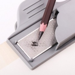 Pencil sharpener - with clip