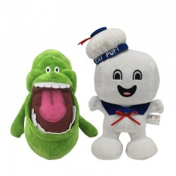 Ghostbuster / green ghost - plush toy