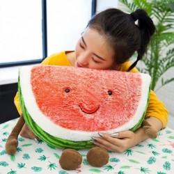 Watermelon shaped plush toy - pillow