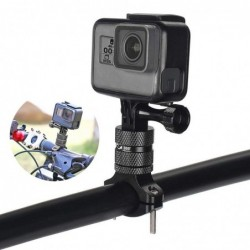 Bicycle / motorcycle handlebar aluminum clamp - holder - for GoPro Hero / Xiaomi