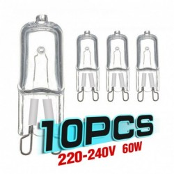 Halogen LED bulb - for refrigerators / ovens - G9 - 20W - 25W - 40W - 60W - 10 pieces
