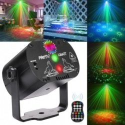 Mini disco light - projector - LED - RGB - for disco / parties / weddings