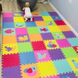 Foam puzzle - baby playing mat - 9 / 18 / 27 pieces