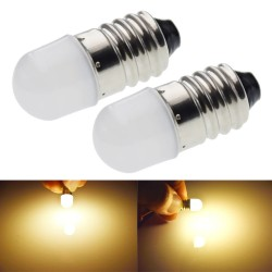 E10 - 1447 - LED bulb - 3V / 6V - 2 pieces