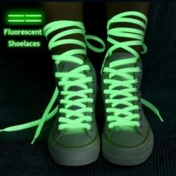 Fluorescent shoelaces - glow in the dark - 80 - 140cm