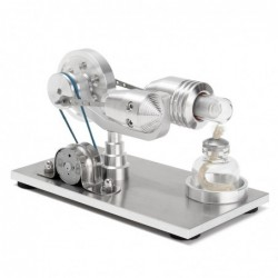 Hot air stirling engine - model - educational toy