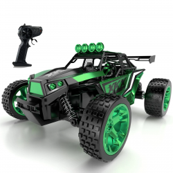 RC off-road truck - high speed - with remote control - 1:18