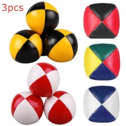 Juggling balls - soft leather - 3 pieces