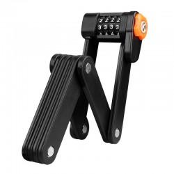 Bicycle anti theft lock - foldable - 4 digit password