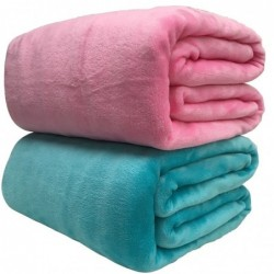 Warm blanket - soft coral fleece