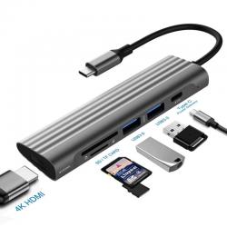 USB C / HUB Type-C to multi USB 3.0 HUB HDMI adapter - dock - splitter
