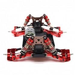 Metal steering swing arm base - C rear Hub seat - servo pull rod - for WLtoys-S 1:14 144001 RC car