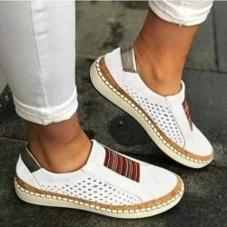 Classic slip-on sneaker - flat loafers