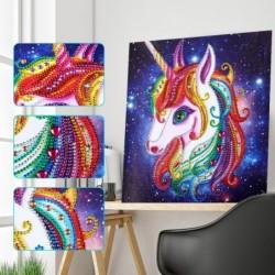 5D diamond painting - mosaic - unicorn / cat / owl - educational arts craft