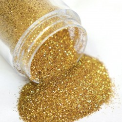 Nail glitter powder - gold / silver / mix - 10ml