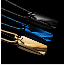 Tungsten carbide pendant - necklace