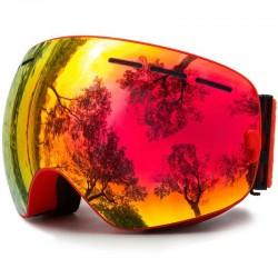 Ski goggles - interchangeable lens - double layer - anti-fog - snowboard sunglasses - UV 400