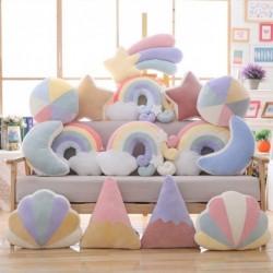 Plush cuddly toys - sky series pillows - moon / shooting star / rainbow / shell