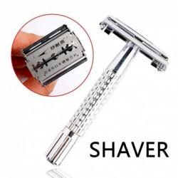 Shaving razor - double edge - with one blade