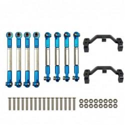 WPL - B1 B-1 B14 B-14 B24 B-24 C14 C24 - 1/16 RC car spare parts - metal pull rod / steering pull rod servo / base