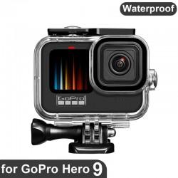 Waterproof housing case - diving / underwater cover - for GoPro Hero 9 Black