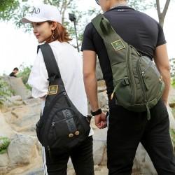 Chest / shoulder mini bag - backpack - waterproof nylon - unisex