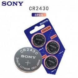 Original Sony button lithium battery - CR2430 - 3V - 3 pieces