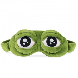 3D Frog-eyes eye mask - sleeping mask