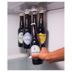 Bottle & jar magnetic holder hanger fridge strips