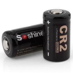 CR 2 - 3V 1000mAh battery 2 pieces